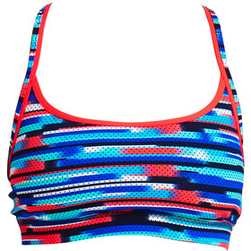Funkita Sports Top Ladies Meshed Up